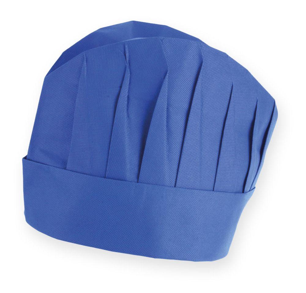 Kuchařská čepice  modrá