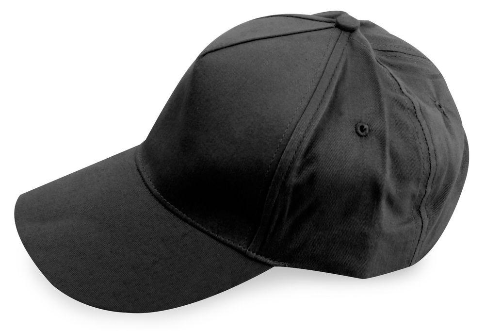 Pětipanelová kšiltovka černá