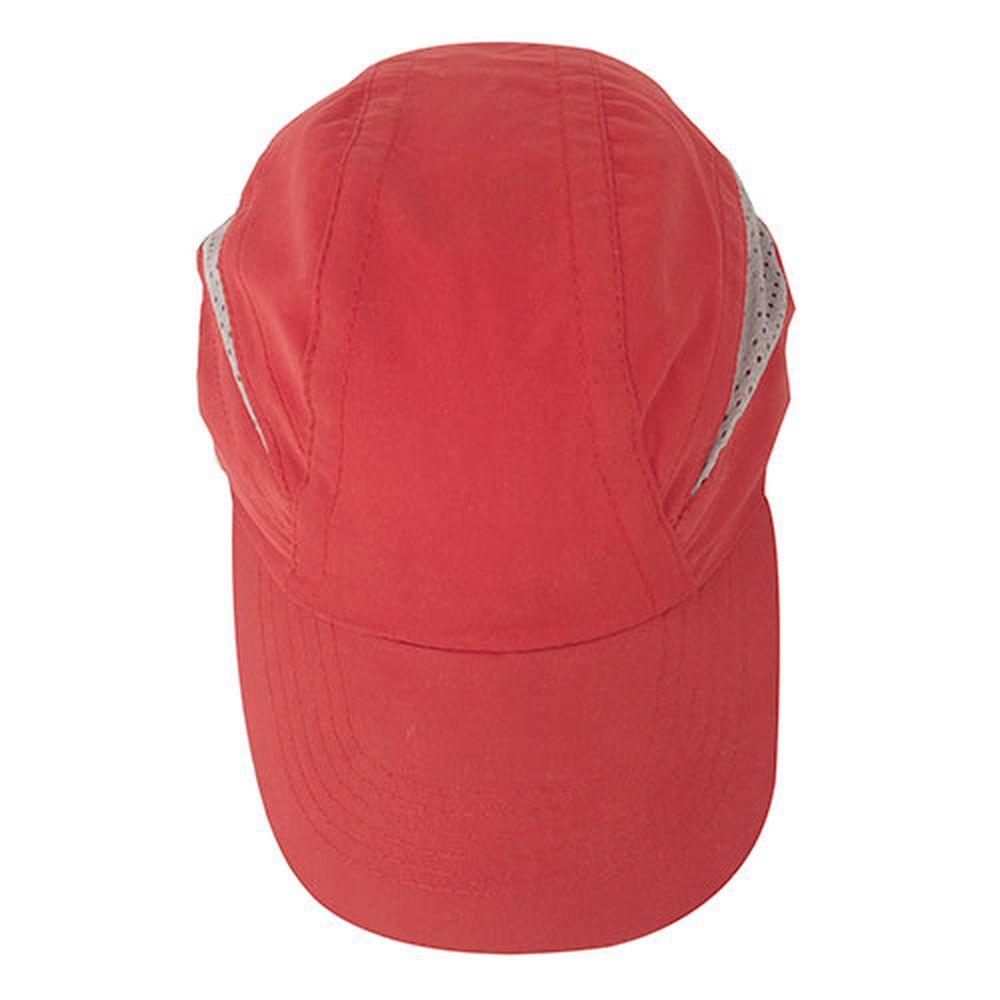 Kšiltovka s větráním červená