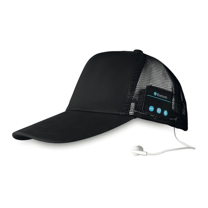 Bluetooth čepice se sluchátky