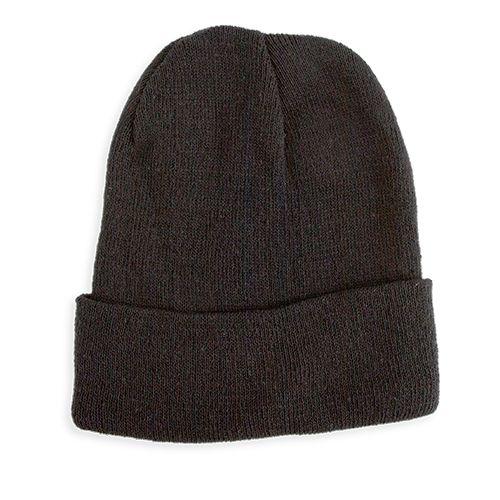 Pletená čepice Elegant černá