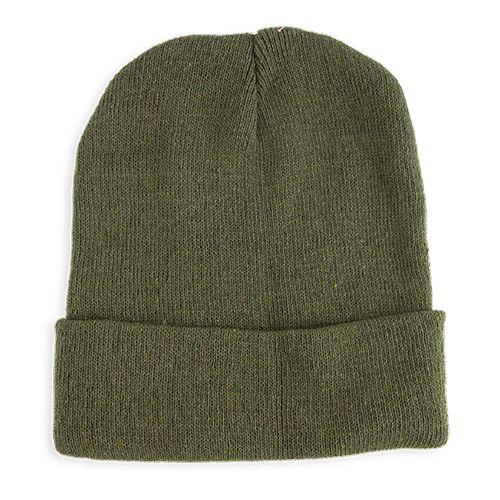 Pletená čepice Elegant zelená