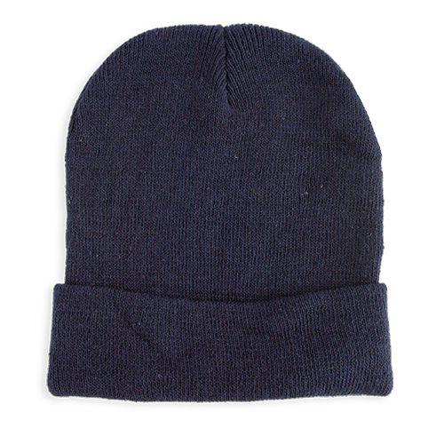 Pletená čepice Elegant tmavě modrá