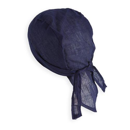 Vlněná bandana modrá