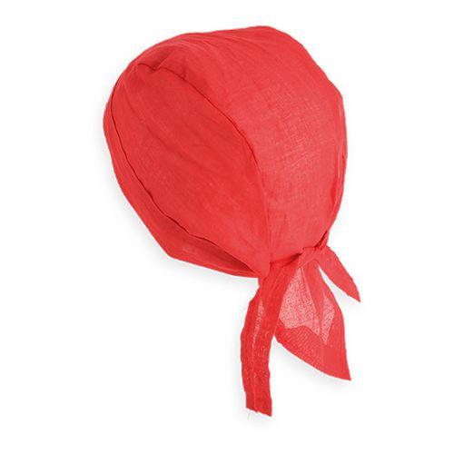 Vlněná bandana červená
