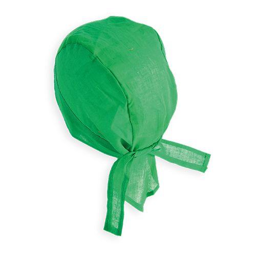 Vlněná bandana zelená
