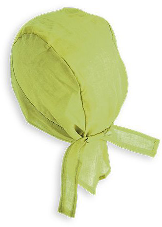 Bavlněná bandana světle zelená