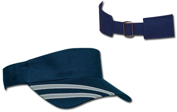 RENATA bavlněný kšilt, kovová spona, tmavě modrá