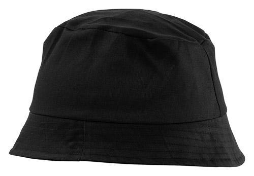 Marvin černý plážový klobouček