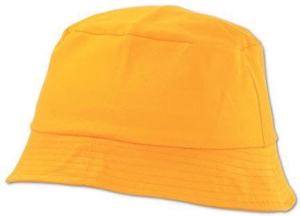 Žlutý plážový klobouček  Marvin