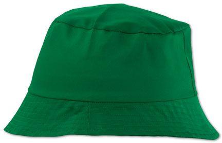 Zelený plážový klobouček Marvin