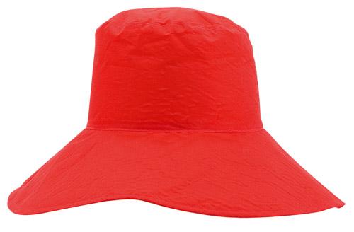 Shelly červený sluneční klobouk