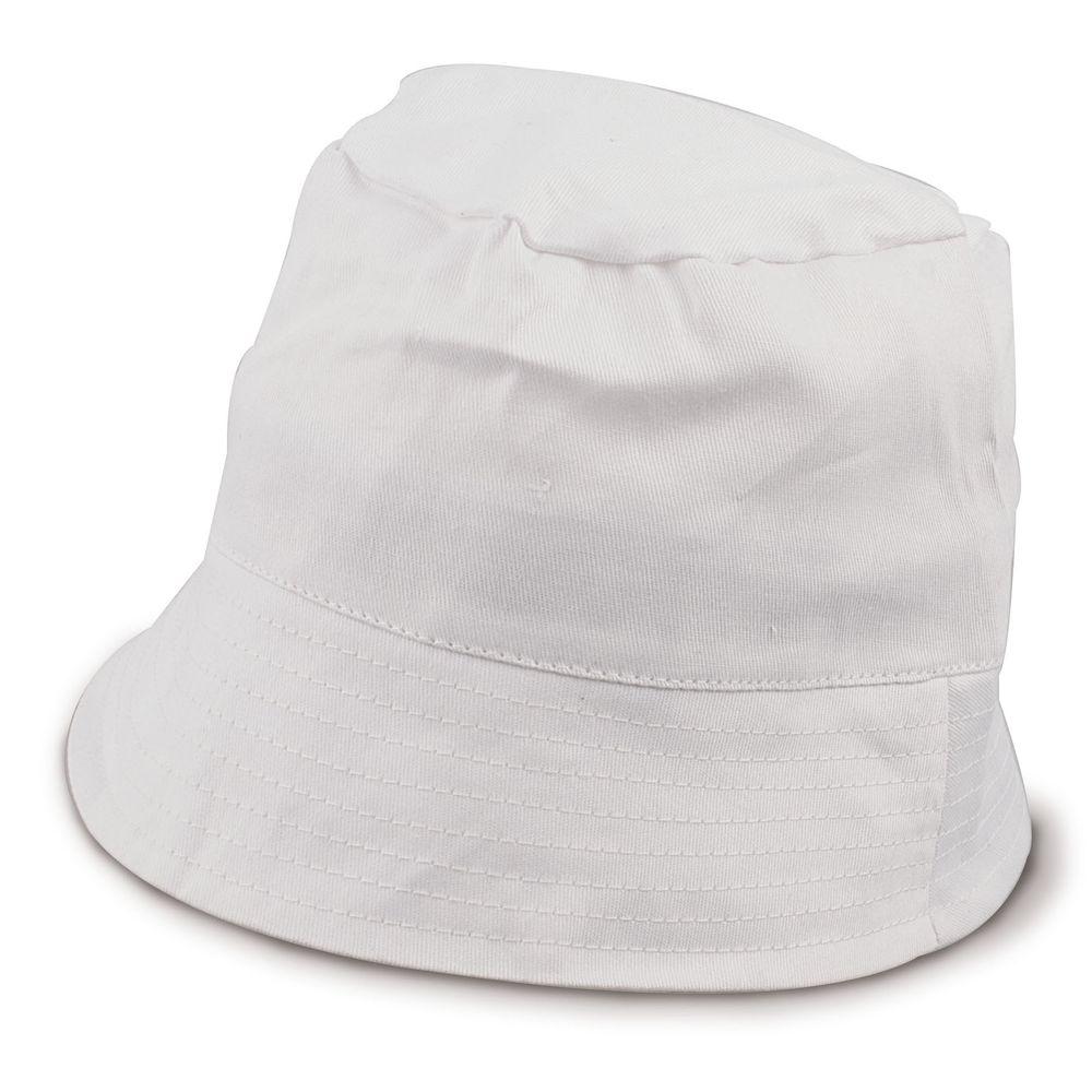 Rybářský klobouček bílý
