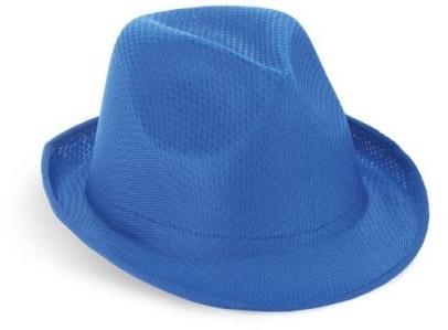 Klobouk modrý