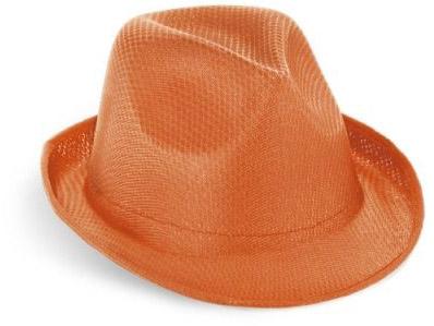 Klobouk oranžový