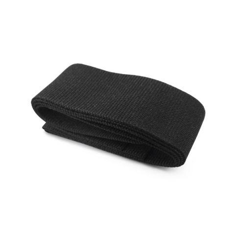 Stuha na klobouk černá