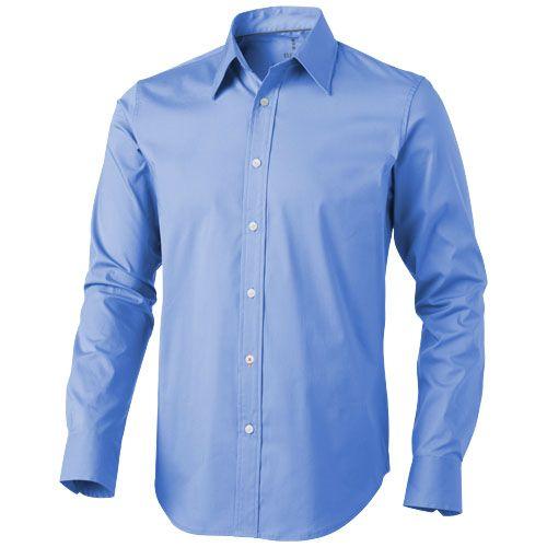 Košile Hamilton modrá s potiskem