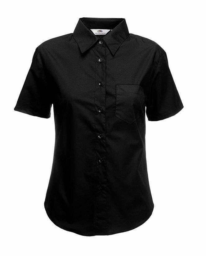 Dámská popelínová košile kr.rukáv Lady-Fit Short Sleeve Poplin Shirt