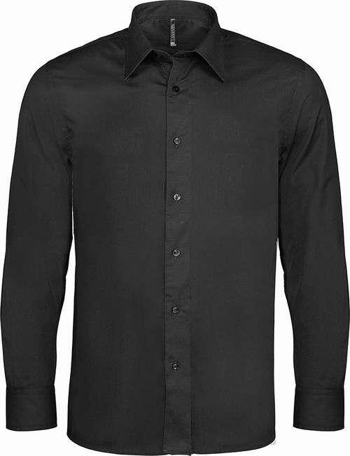 Pánská strečová košile s dlouhým rukávem