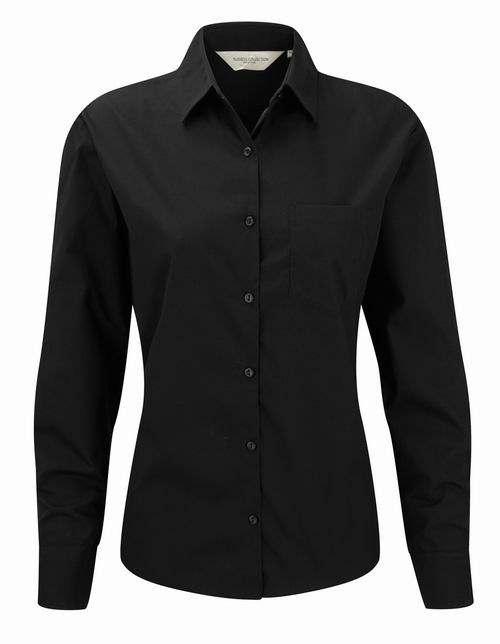 Dámská košile s dlouhými rukávy Ultimate v nežehlivé úpravě