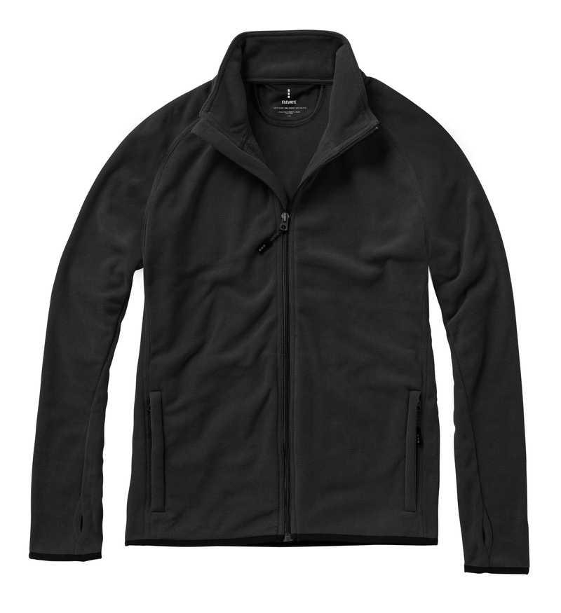 Brossard bunda microfleece černá