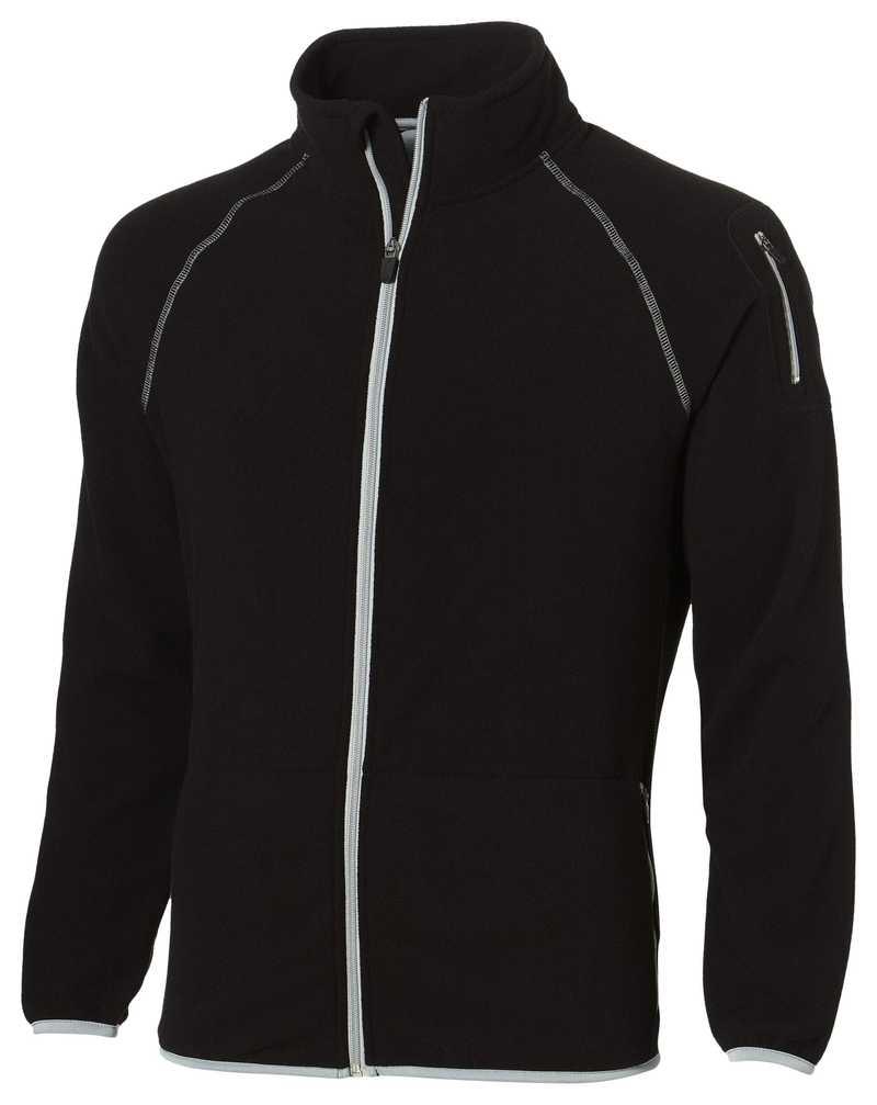 DropShot černá microfleece bunda