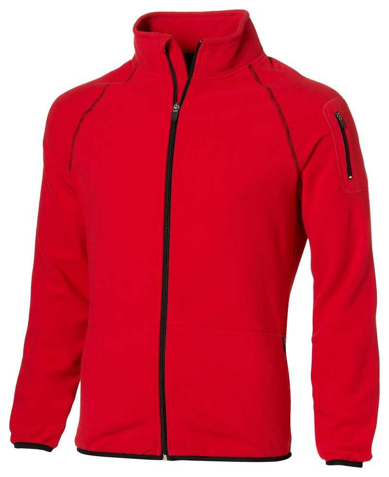 DropShot červená microfleece bunda