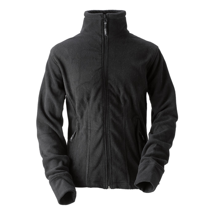 Dámská fleece mikina černá