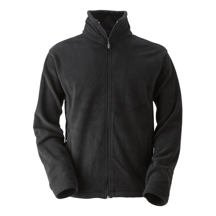 Pánská fleece mikina černá