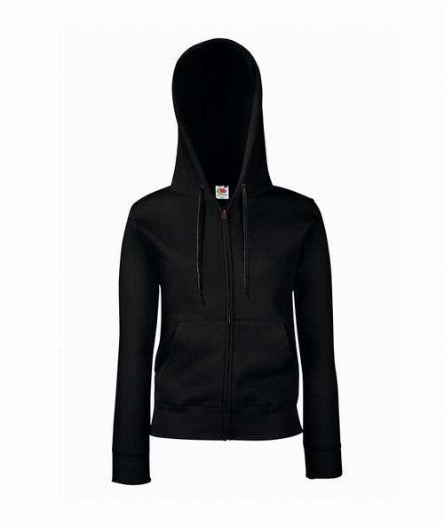 Dámská mikina s kapucí Premium Hooded Sweat Jacket