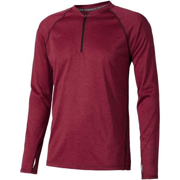 Pánské triko Quadra s dlouhým rukávem, s povrchovou úpravou odvádějící vlhkost