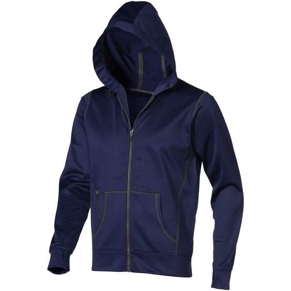 Mikina Moresby s kapucí, zip v celé délce
