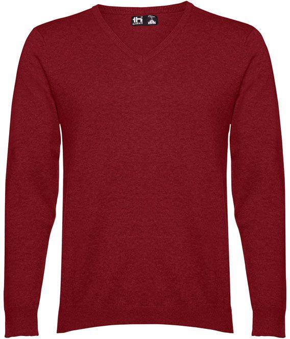 Milan pánský svetr s výstřihem do v
