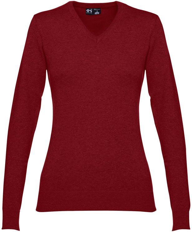 Milan women dámský svetr s výstřihem do v