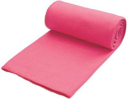 Pikniková růžová deka