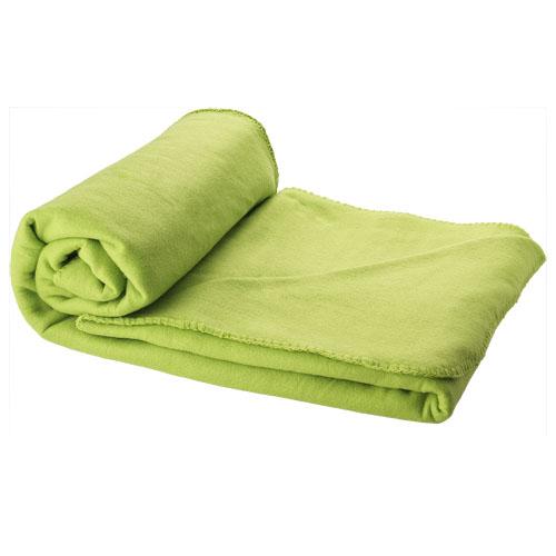 Pikniková limetková deka