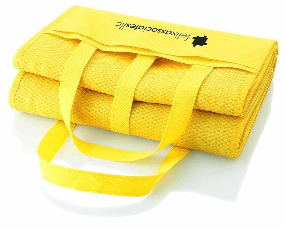 Plážová deka žlutá