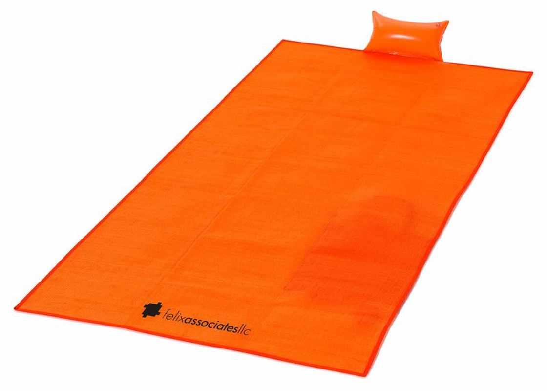 Plážová deka oranžová