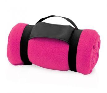 Mountain růžová cestovní deka