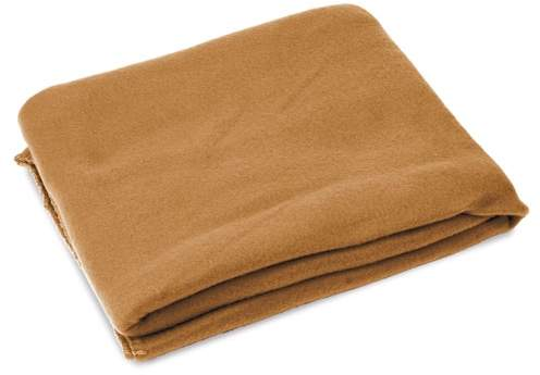 Cestovní deka, hnědá