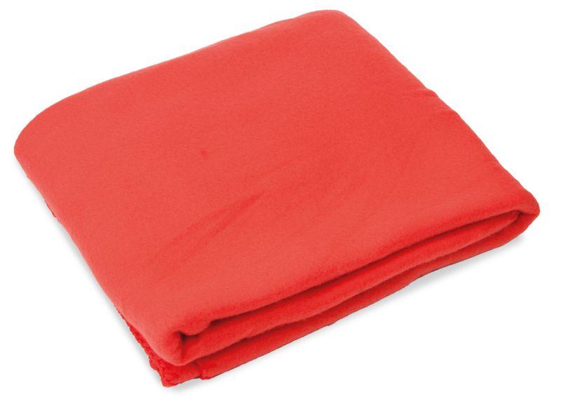 Cestovní deka červená