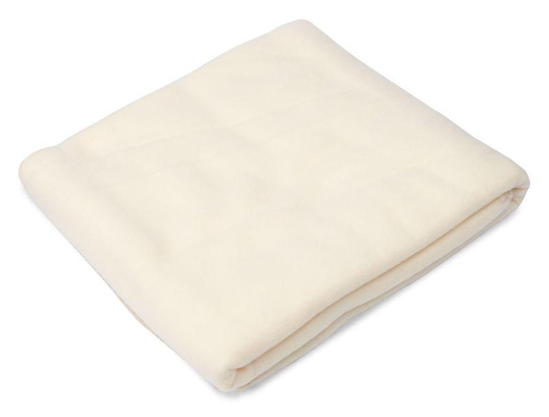 Cestovní deka bílá