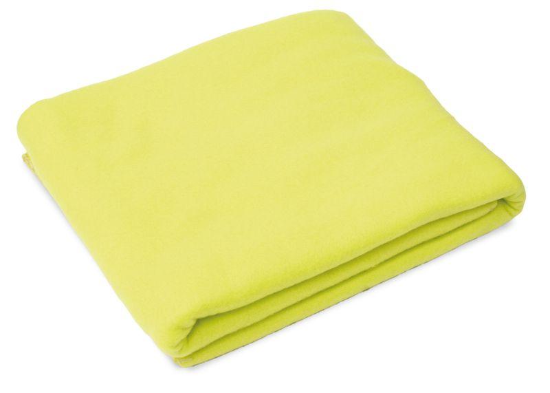 Cestovní deka světle zelená