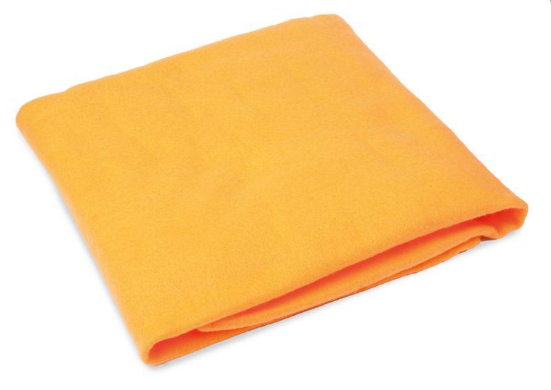 Cestovní deka oranžová