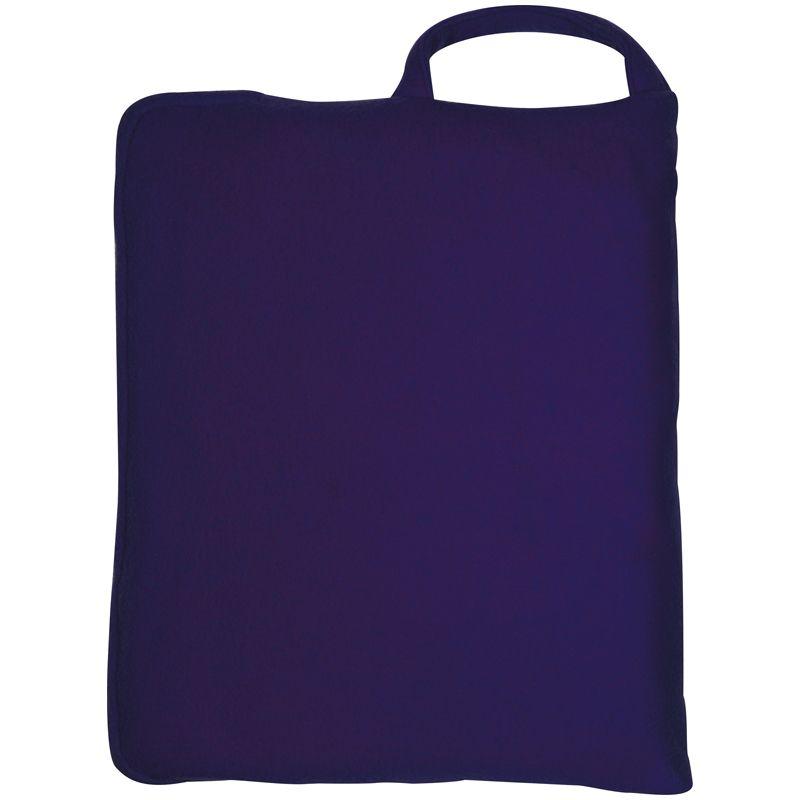 Polštář/ přikrývka tmavě modrá