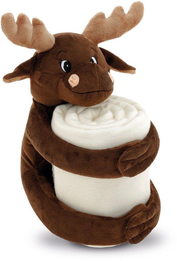 Moose deka s plyšovou hračkou