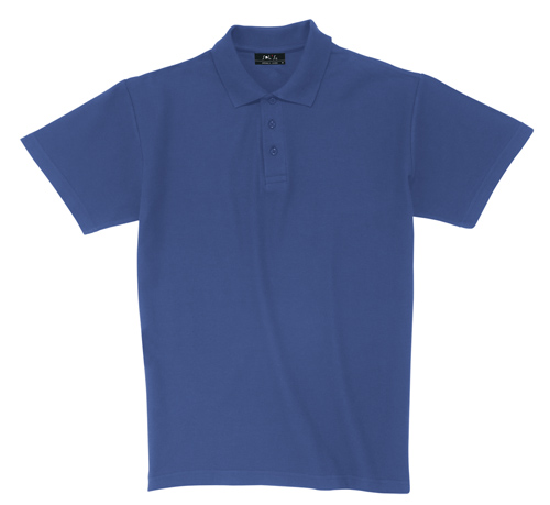 Pique modrá polokošile bavlna