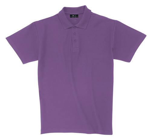 Pique fialová polokošile bavlna