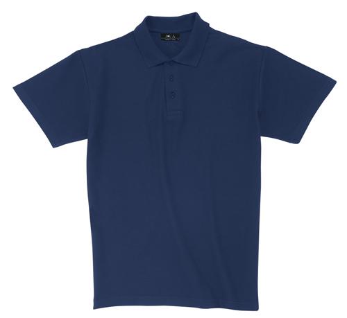 Pique tmavě modrá polokošile bavlna