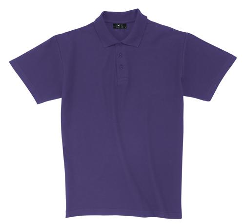 Pique polokošile bavlna transparentní fialová